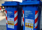 Contenitori speciali per il conferimento dei bicchieri di plastica, iniziativa di Alia per il centro storico