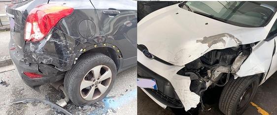 Distrugge auto in sosta e scappa: rintracciato dopo quasi tre mesi il pirata della strada