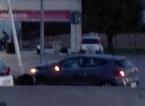 Con l'auto si schianta contro un lampione, incidente sulla tangenziale a Villa Fiorita