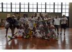 """Il Futsal Prato rifila la """"manita"""" al Top Five e conquista la serie B"""