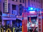 Incendio in una rosticceria in via Marini, in otto ricorrono alle cure del 118