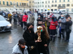 A Prato le ceneri di Paolo Rossi nell'urna a forma della Coppa del Mondo