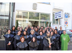 La Misericordia di Montemurlo festeggia 94 anni di fondazione con l'accoglienza di 15 nuovi confratelli e consorelle