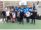 Al playground del Serraglio un nuovo murales con una doppia dedica speciale