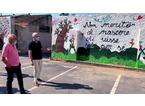 Gruppo di giovani artisti regala un murale alla Pubblica Assistenza