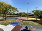 L'arte al cuore del nuovo campo da basket di Oste, l'inaugurazione con Galanda