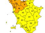 Allerta meteo di codice arancione per piogge, temporali e vento