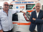 L'ultimo atto d'amore del volontario: dona la sua auto alla Croce d'Oro per il servizio sociali