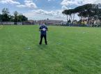 I bambini del Grignano sono i primi a tornare in campo, ecco come si allenano al tempo del Covid