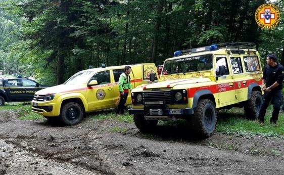 Intervento del Soccorso Alpino nei boschi dell'Abetone per recuperare una pratese di 60 anni