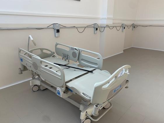 Il primo reparto covid all'ex Creaf sarà inaugurato entro il 9 dicembre e ospiterà da 170 a 192 pazienti