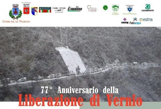 77° anniversario della Liberazione di Vernio, domenica cerimonia al parco della Torricella