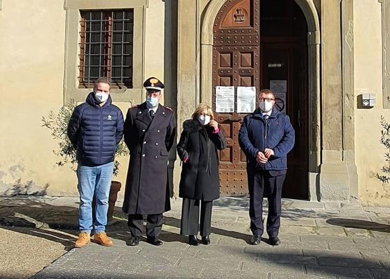 Visita ufficiale a Vernio per il nuovo prefetto Adriana Cogode