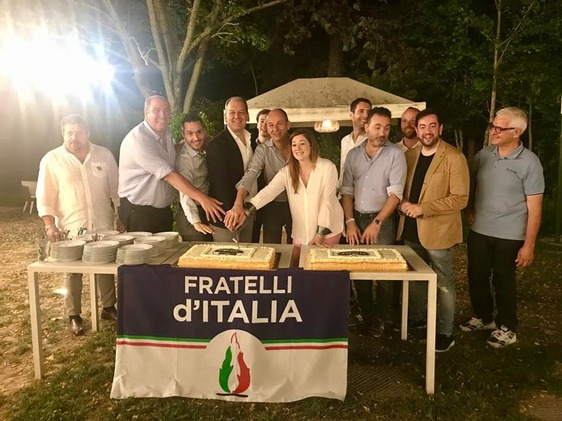 La nuova squadra di Fratelli d'Italia, Gianni Cenni torna al vertice del partito