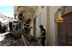 Camion di Alia si schianta sulla facciata della chiesa trecentesca: danni ingenti