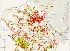La mappa dell'evasione Tari in città
