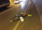 Grave incidente nella galleria della Madonna della Tosse, investito un ciclista