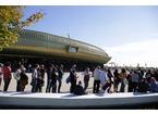 Inaugurato il Centro Pecci. Migliaia in fila per entrare