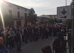 Sparatoria Poggio, in 200 per ringraziare e d esprimere solidarietà ai carabinieri