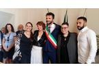 Ilaria e Chiara hanno detto si, prima unione civile pubblica a Prato
