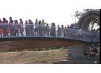 Grande festa per l'apertura ufficiale del ponte Manetti